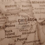 sepia map chicago