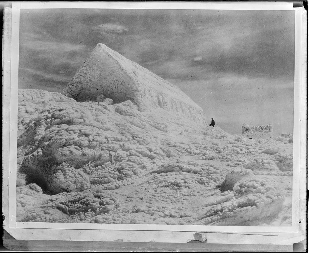 Blizzard on Mount Washington, N.H. 1933