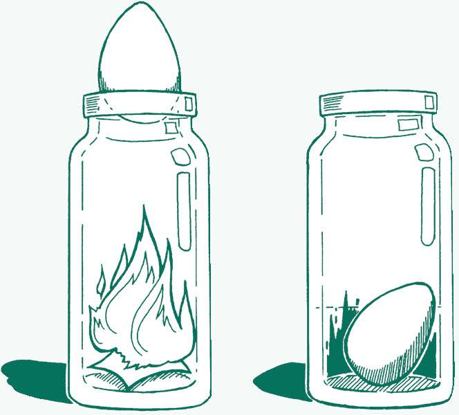 egg bottle