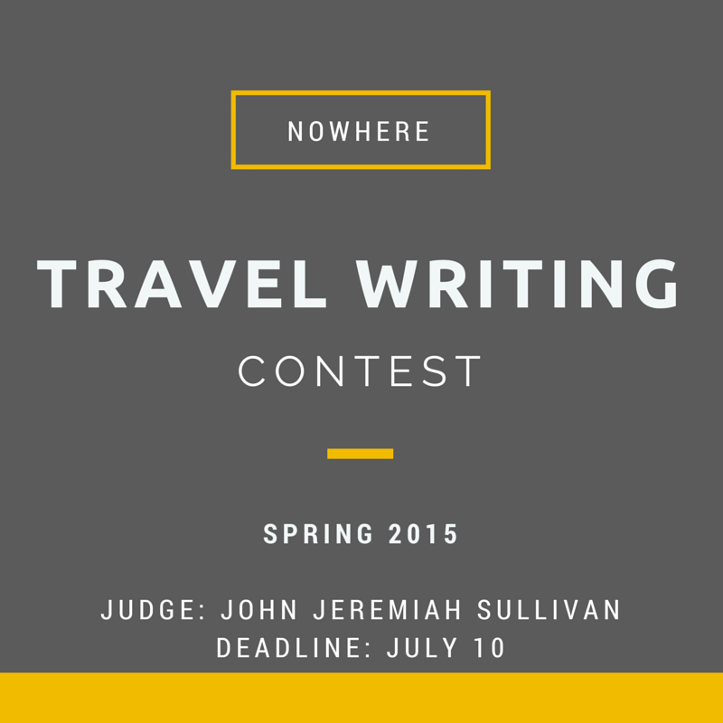 travel essay submissions The submission fees only cover the submittable website and our own we are volunteers, the readers, editors short nonfiction travel essays ends on april 30.
